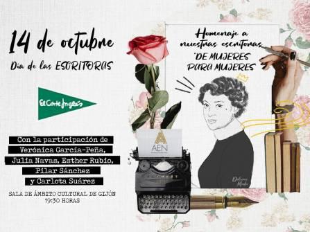 cartel Día de las escritoras
